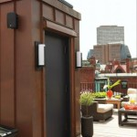 Luxury Home Renovation - Elevator to roof deck