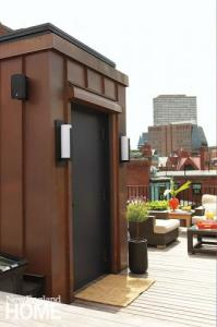 Luxury Home Design Trends 2014 - Elevator to the Roof Deck