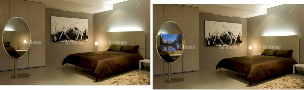 Mirror TV On and Off - Connaughton Construction