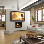 Mirror Screen TV - Connaughton Construction