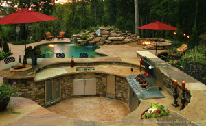 Outdoor-Kitchen-Escapes - Connaughton Construction