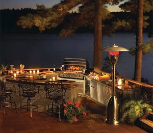 Heated Outdoor Kitchens - Connaughton Construction