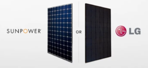 Sun Power or LG Solar Panels