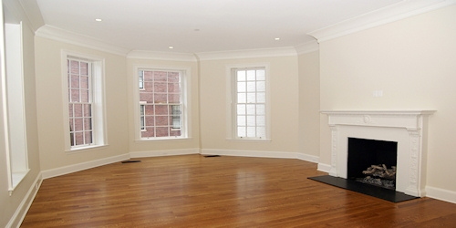 Luxury Home Fireplace Commonwealth Avenue Boston by Connaughton Construction
