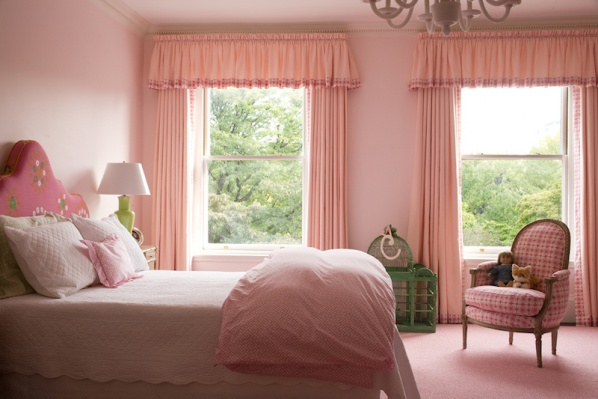 Pink Bedroom new renovation by Connaughton Construction