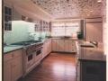 Kitchen with Vine Ceiling