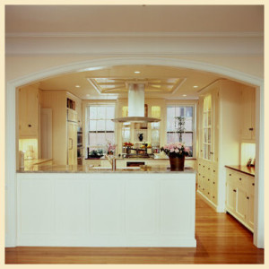 Pinckney Street Beacon Hill Kitchen Renovation. Connaughton Construction.