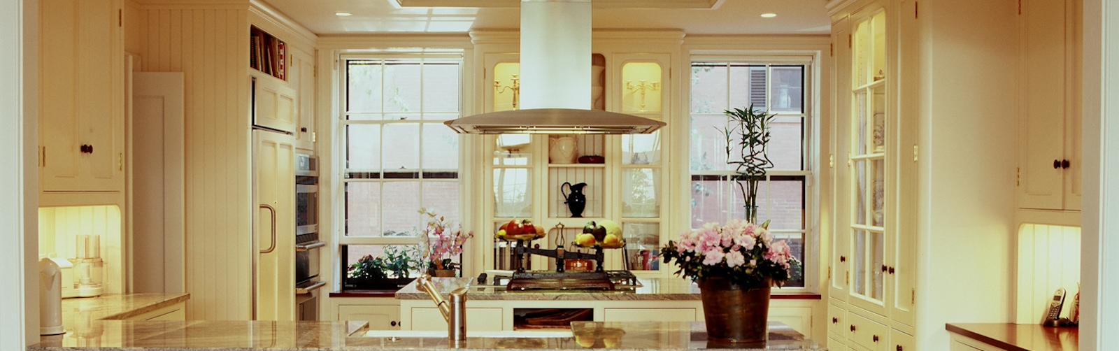 Kitchen Renovation Boston by Connaughton Construction.