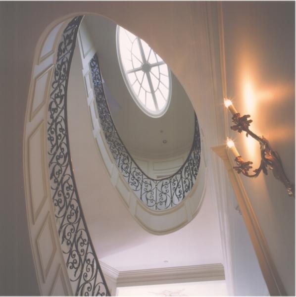 Spiral Staircase. Connaughton Construction.
